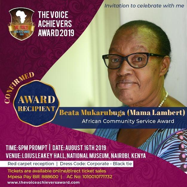 The voice achievers award 2019