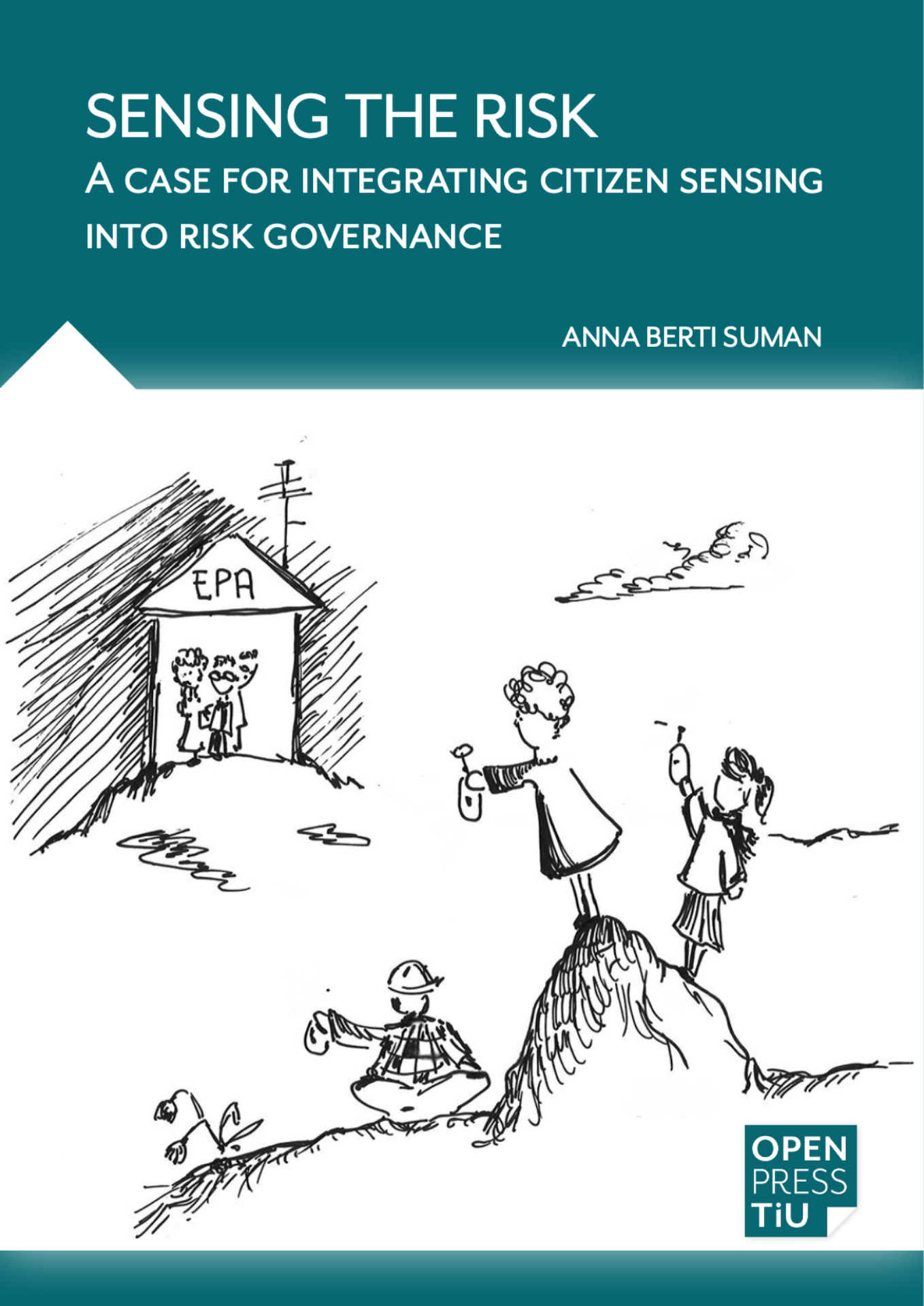 Sensing the risk, book cover
